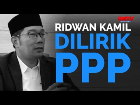 Ridwan Kamil Dilirik PPP