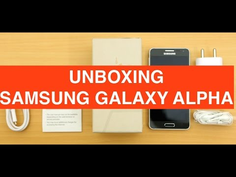 Samsung Galaxy Alpha, unboxing e anteprima