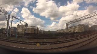 preview picture of video 'Train journey from Stratford to Liverpool Street Station, London, UK - GoPro'