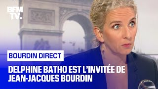 Delphine Bato face à Jean-Jacques Bourdin en direct