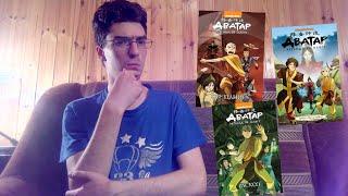 """[О комиксах] - """"Аватар. Легенда об Аанге: обещание, поиск, раскол"""""""