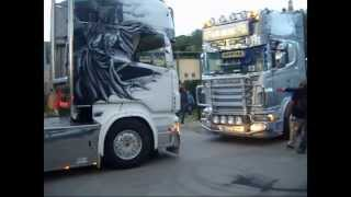 preview picture of video 'Catalonia Truck Photos | Llegadas desfile Torello | Toni Er Nene y Dani Batman'