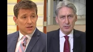 Good Morning Britain Ben Shephard loses temper with Philip Hammond