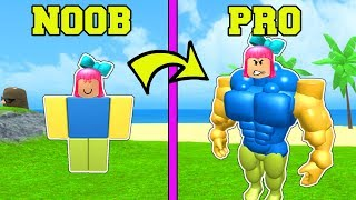 Roblox: GOING FROM NOOB TO PRO IN ROBLOX!!!