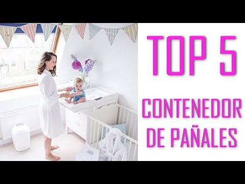 TOP 5 Contenedor de pañales 2018 - EL MEJOR : Tommee Tippee | Foppapedretti | Chicco | Angelcare