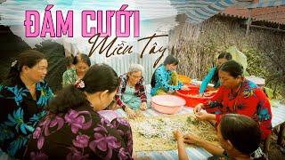 ĐÁM CƯỚI MIỆT VƯỜN MIỀN TÂY: Quá trời món ngon! Vietnamese wedding ceremony
