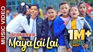 Cartoonz Crew JR | Maya Lai Lai | Aayuf Luitel Feat Kamal