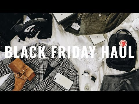 BLACK FRIDAY HAUL 2017 💰 I Spent Over $2000 on CLOTHES...