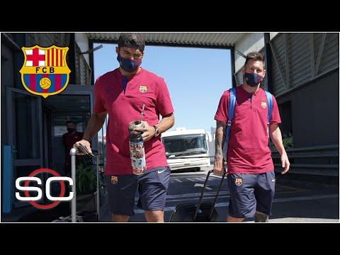 BARCELONA Luis Suárez ¿hace maletas? ¿Lionel Messi se va al Manchester City? | SportsCenter
