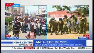 NASA anti-IEBC demos in Kisumu