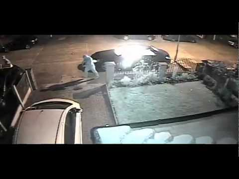 Car Set On-Fire - Whalley Range - 23 May 2014