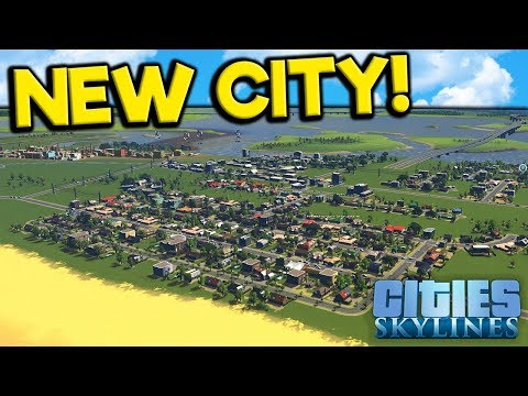 Building a New Vacation City of My Dreams! - Cities: Skylines Campus Gameplay