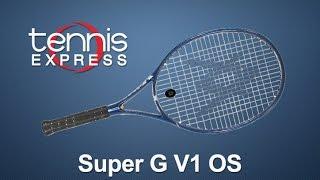 Ρακέτα τέννις Volkl Super G V1 OS video