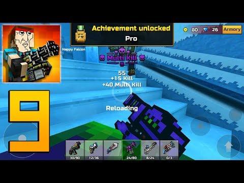 Pixel Gun 3D - Gameplay Walkthrough Part 9 - Cyber Mode / Cyber Weapons