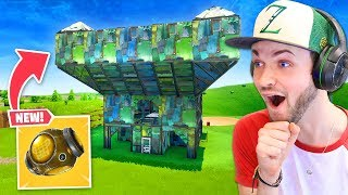 The *NEW* LEGENDARY FORTRESS item in Fortnite!