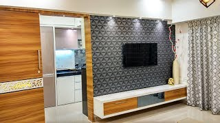 """1 BHK Home Interior Design Idea"" by Makeover interiors"