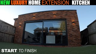 Building Luxury House Extension From Start To Finish