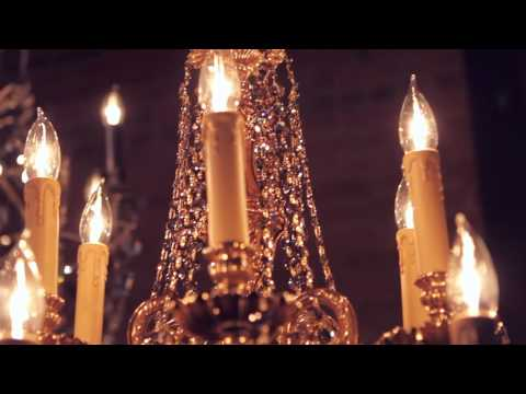 Video for Novella Olde Brass Six-Light Ornate Cast Brass Chandelier with Clear Hand Cut Crystal
