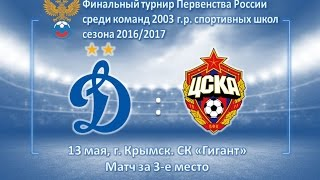 Академия Динамо - ЦСКА 2003 г.р.