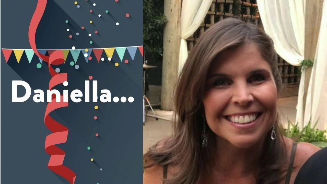 Daniella Faria - Aniversário de 40 Anos  - versão na integra de todos os vídeos.