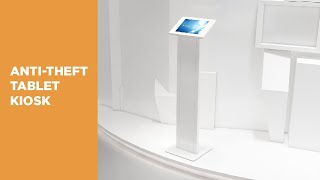 Anti-Theft Free-Standing Tablet Display Kiosk - PAD32-01