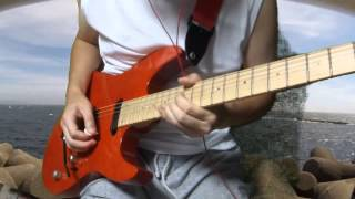 Dokken Burning Like A Flame Guitar Solo Cover