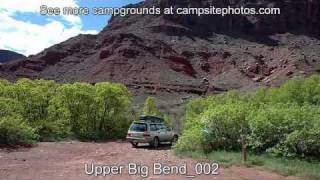 Upper Big Bend Campground, Moab, Utah Campsite Photos