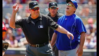 MLB Ejections 2018