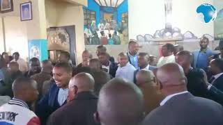 Chaos as Kamanda, Nyoro clash in church - VIDEO