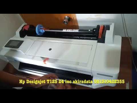 HP Designjet T125 24 inc new product replacement HP Designjet t120 order akiradata 081310422355