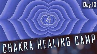 THIRD EYE CHAKRA AFFIRMATIONS | 14 Day Chakra Healing Camp | Day#13