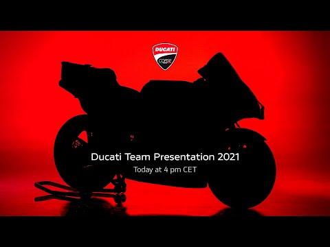 【ドカティ】MotoGP2021 チーム体制と新型デスモセディチGPを公開したローンチイベントのライブ配信動画
