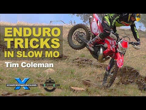 TIM COLEMAN: awesome dirt bike tricks & stunts Beta RR300