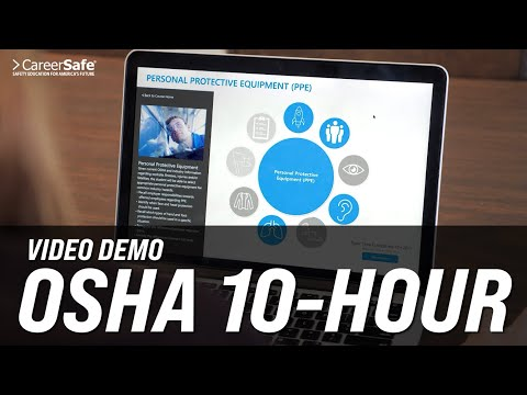 Video Demo: OSHA 10-Hour by CareerSafe Online! - YouTube