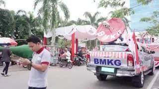 BMKG  Pawai Kendaraan Hias HUT RI Ke 71 Prov Kep Bangka Belitung Tahun 2016