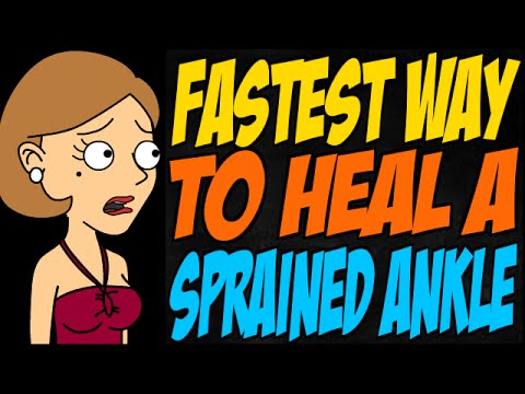 Video Fastest Way to Heal a Sprained Ankle