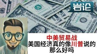【中美贸易战】 美国经济真的很好吗? 【岩论】