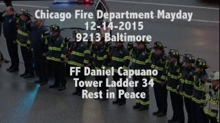 Chicago Fire Department Dispatch and Mayday Audio - 9213 Baltimore -12-14-2015