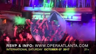 International Night  Saturday October th 2017