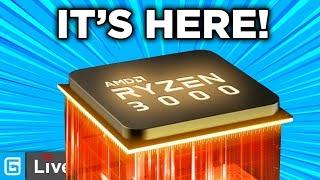 Ryzen 3000 ANNOUNCED - Specs, Pricing & ALL - Stream