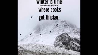 Quotes On Winter 2017