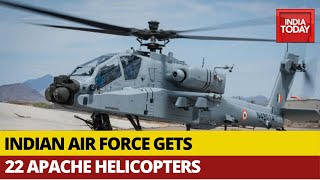 IAF Receives Final Batch Of Apache Helicopters Amid India-China Border Tussle