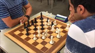 Blitz Wars - USCF Life Senior Master Mick vs. GM Ehsan