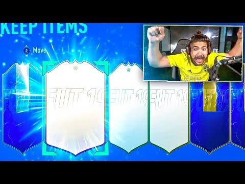 ICON AND TOTS IN SAME PACK!! NO WAY!! FIFA 19
