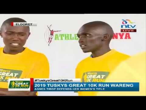 #TuskysGreat10KMRun || Rhonex Kipruto, Agnes Tirop win Ksh. 500,000