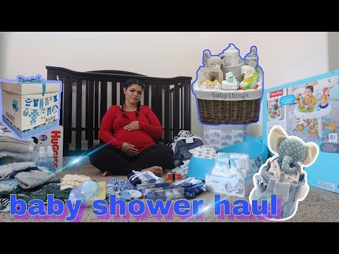 BABY SHOWER HAUL ///REGALOS DEL BABYSHOWER