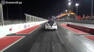 Летвющий спорт-кар (авария) /sport car