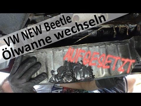 VW Ölwanne ausbauen und wechseln