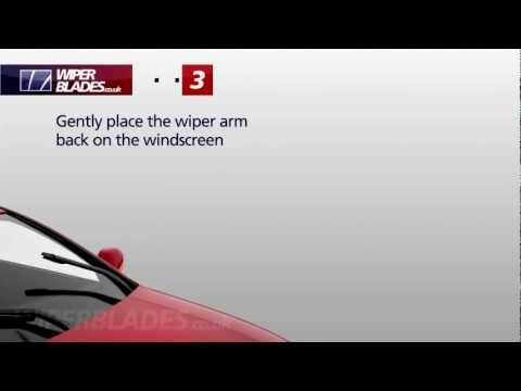 How to Fit Side Latch Style Wiper Blades