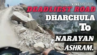 preview picture of video 'DHARCHULA TO NARAYAN ASHRAM ||PITHORAGARH,UTTARAKHAND||(INDIA-NEPAL BORDER)|DCLboy Sukhi|'
